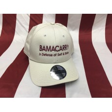 BamaCarry Hat w/elastic back / Tan