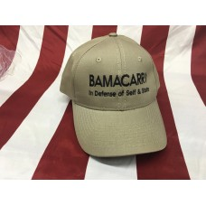 BamaCarry Hat w/solid back / Tan